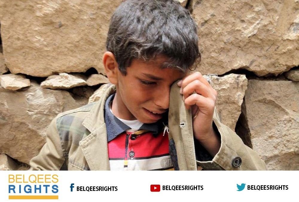 Killing and Injuring of more than 2 thousand Children by Houthis Militia in Taiz in Five Months