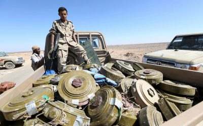 Houthi-laid landmines is a new misery left behind
