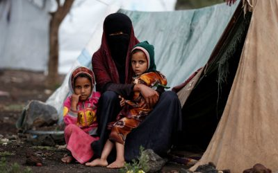 Two displaced persons died from the extreme cold wave in Marib camps