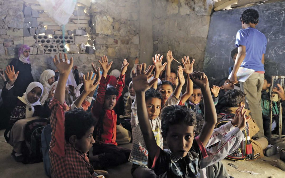 Dangers looming over the education of children in Yemen