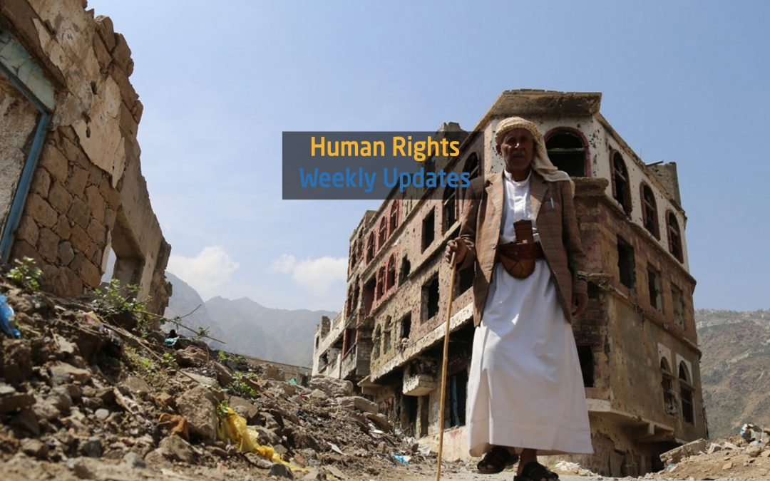 Human Rights Update from (30 April to 6 May, 2019)