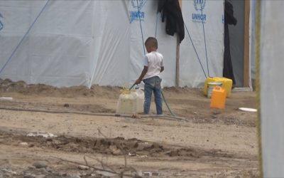 Manifestations of Eid don't appear in al-Sha'ab camp