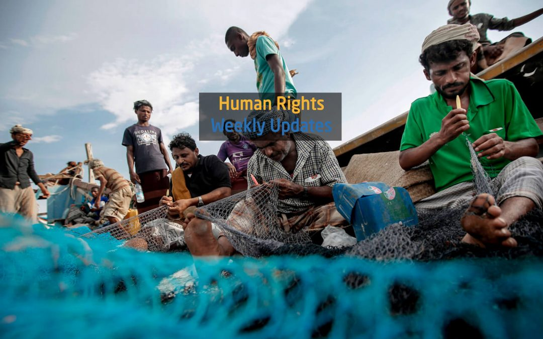 Human rights Updates from (28 May to 3 June, 2019)