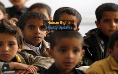 Human Rights Update from ( 20 August to 26 August, 2019)