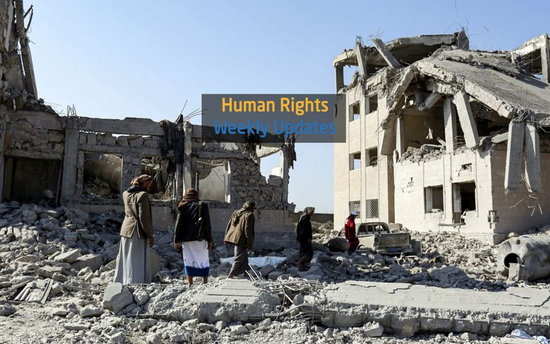Human Rights Update from (10 September to 16 September, 2019)