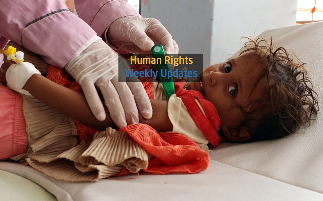 Human Rights Update from ( 8 October to 14 October, 2019)