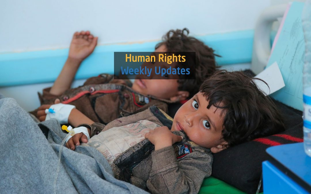Human Rights update from (12 November to 18 November 2019)