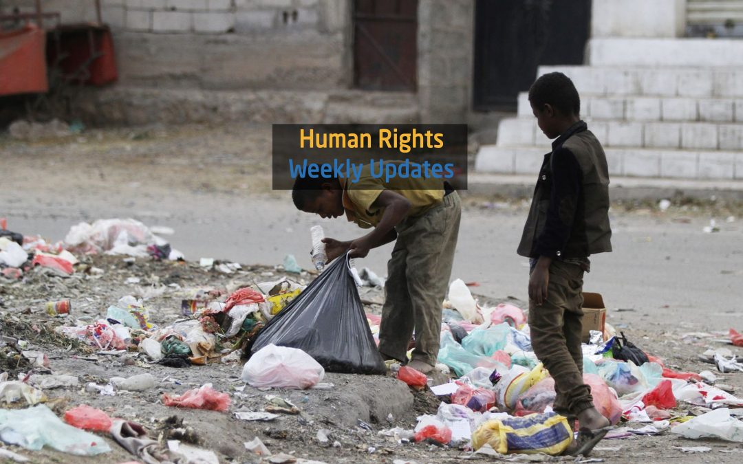 Human Rights Update from (19 November to 25 November,2019)