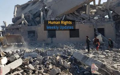 Human Rights Update from ( 15 July to 21 July,2020)