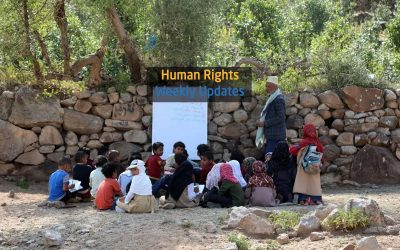 Human Rights Update from (28 October to 3 November, 2020)
