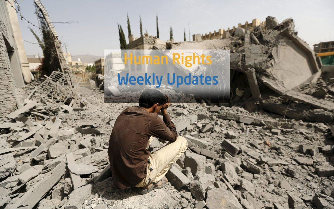 Human Rights Updates    (11-17 September, 2018)