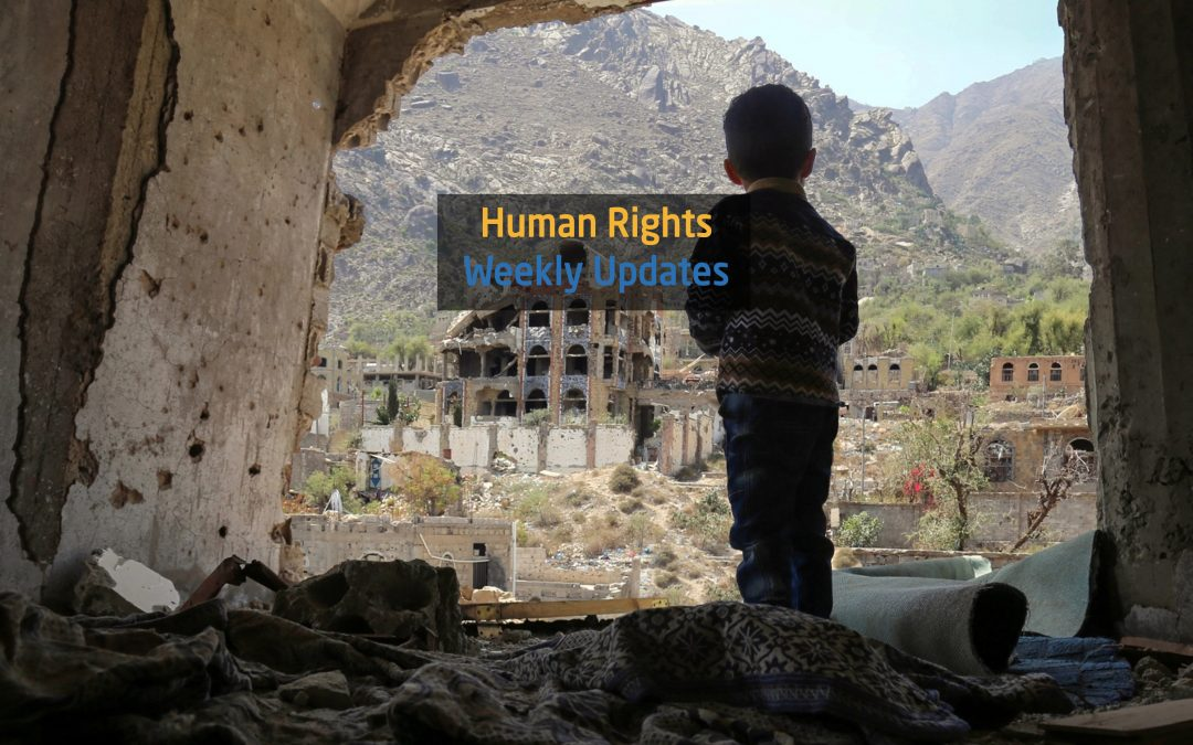 Highlights of human rights  25 September until 1 October, 2018