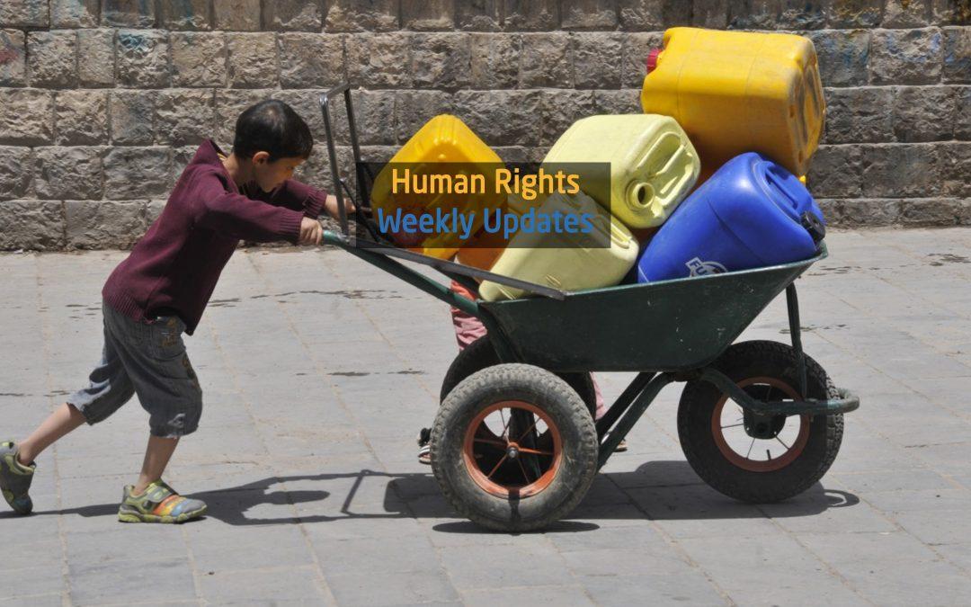 Human Rights Updates (9-15 October 2018)