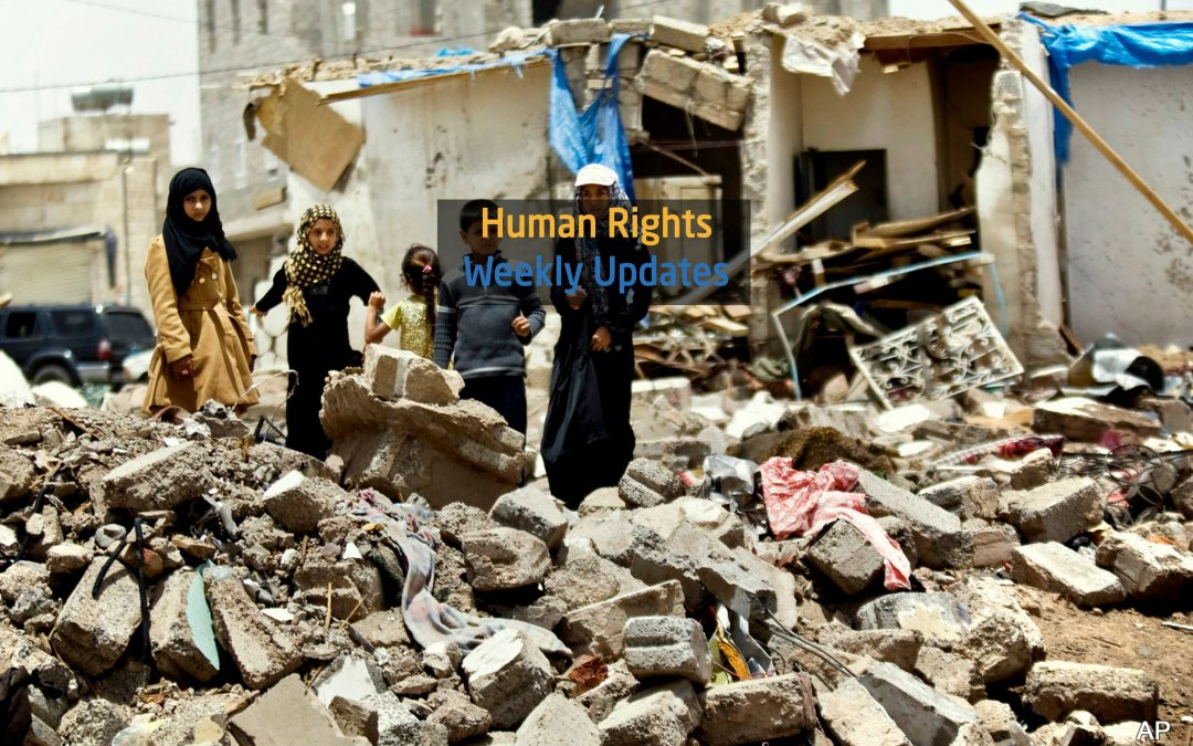 Human Rights Update from (1 January to 7 January 2019)
