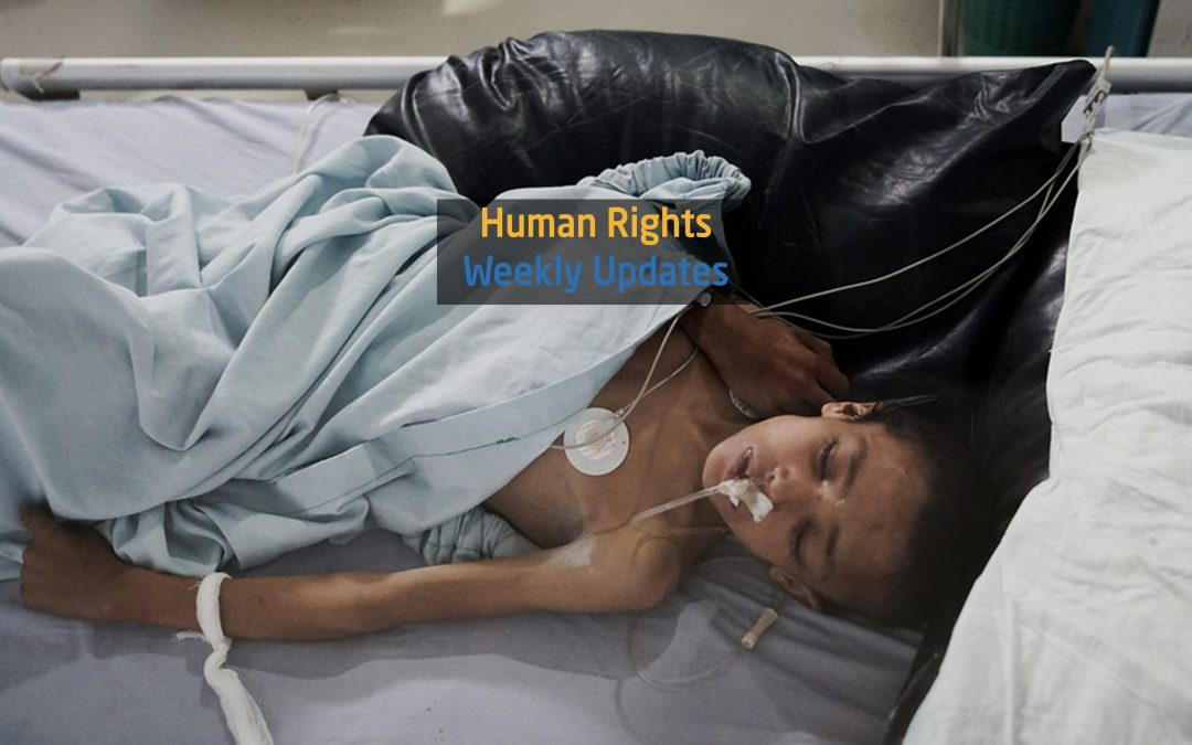 Human Rights Update from ( 30 July to 5 August, 2019)
