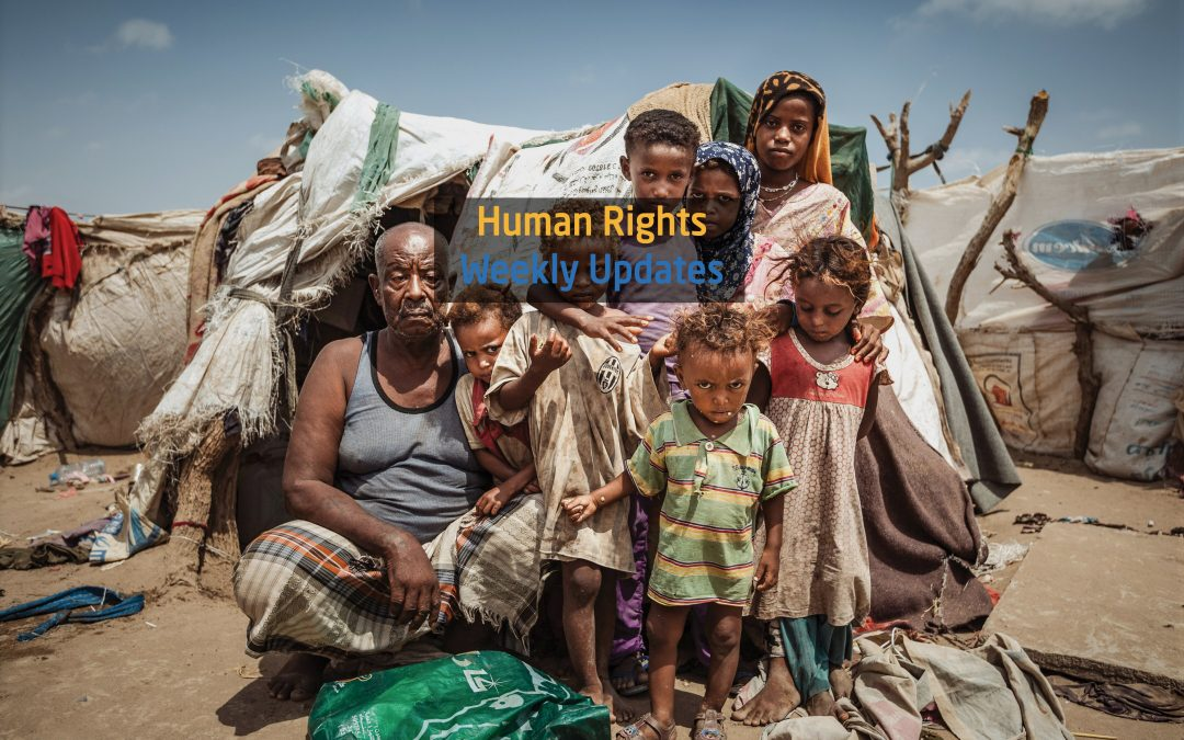 Human Rights Update from ( 23 July to 29 July, 2019)