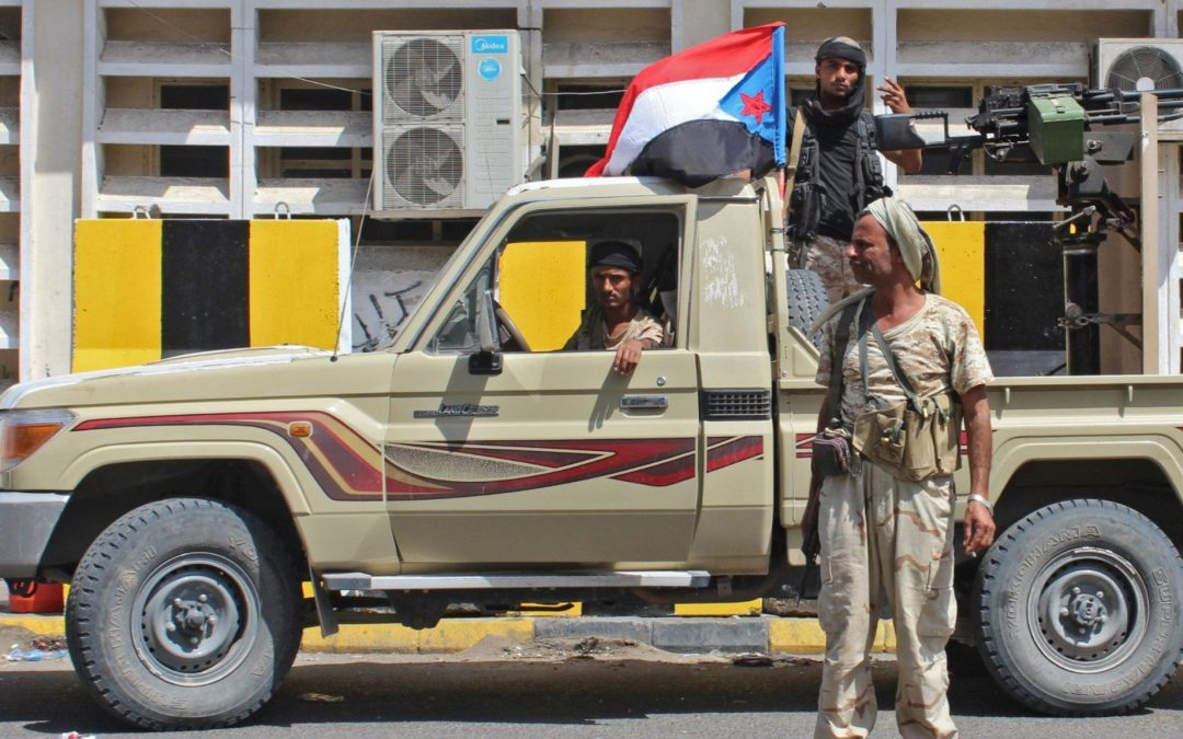 Southern Transitional Council launched mass abductions and the army has withdrawn