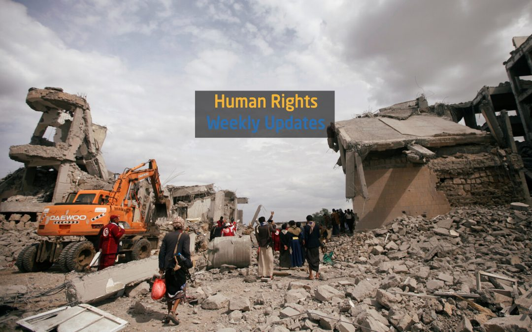 Human Rights Update (3 September to 9 September, 2019)