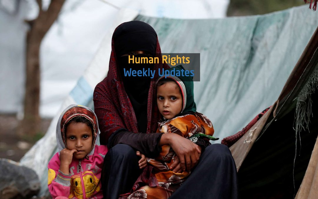 Human Rights Update from (3 December to 9 December,2019)