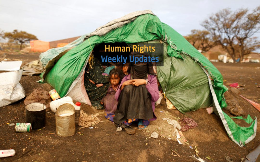 Human Rights Update from (31 December, 2019 to 6 Januaray,2020)