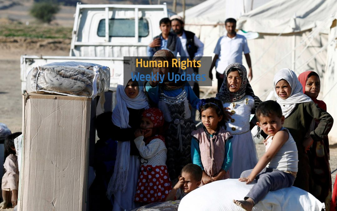 Human Rights Update from (3 March to 9 March, 2020)