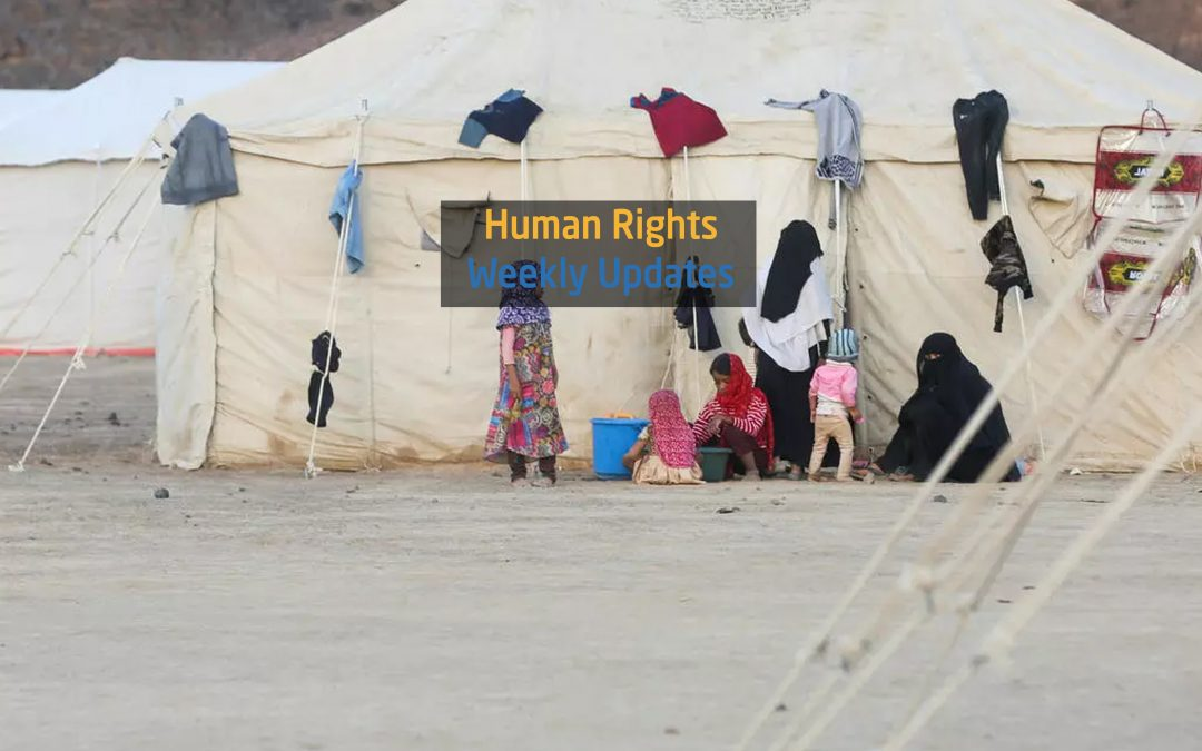 Human Rights Update from (17 March to 23 March, 2020)