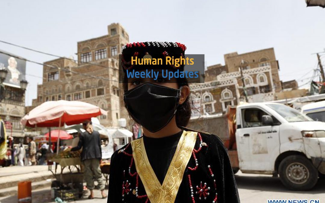 Human Rights Update from (26 May to 2 June,2020)