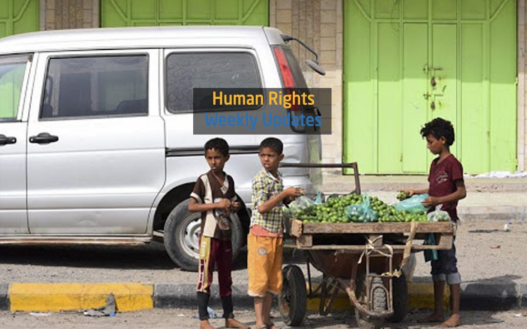 Human Rights Update from (2 September to 8 September, 2020)