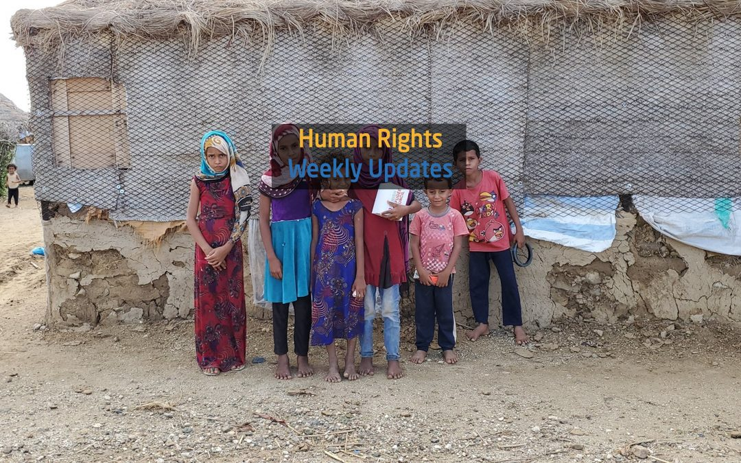 Human Rights Update from (9 September to 15 September, 2020)