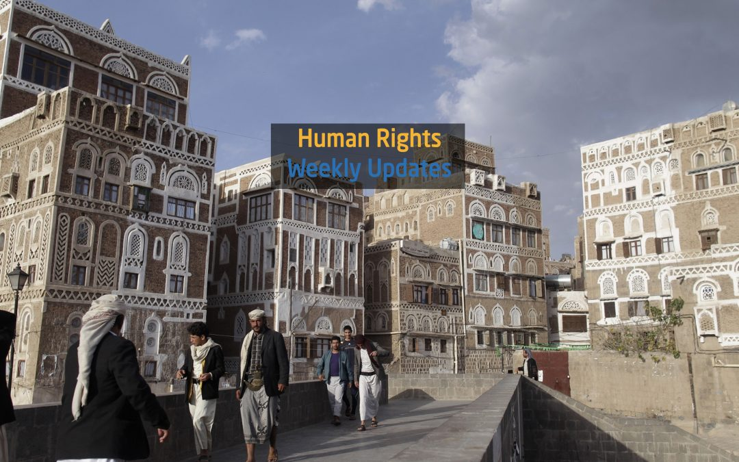 Human Rights Update from (21 October to 27 October, 2020)