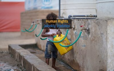 Human Rights Update from (11 November to 17 November, 2020)